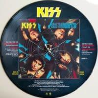KISS Crazy Crazy Nights Vinyl Record 12 Inch Vertigo 1987 Picture Disc